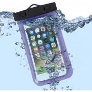 Funda Contra Agua 100 Sumergible Para Celular Azul