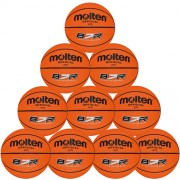 molten Basketballpaket (10 Stück) B7R (orange) - 7