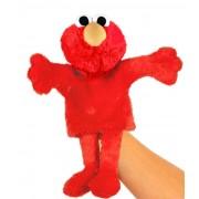 Sesamstraat handpop knuffel: Elmo