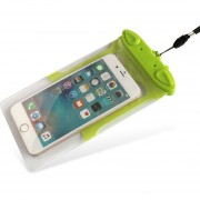 Caso Impermeable Universal Para Iphone 7 6 6s Más Samsung S7 Teléfono Celular Prueba De Agua Bolsa Seca Con Silbato Para Teléfono Inteligente De Hasta 5,8 Pulgadas (verde)