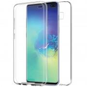 Capa silicone 360 transparente Samsung S10