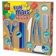 Детски комплект с инструменти за фигури мъниста, SES, 080747
