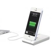 Incarcator LEITZ Complete, 3 in 1 cu conector Lightning pentru iPhone 5/5S/5C/6/6 Plus - alb