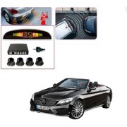Auto Addict Car Black Reverse Parking Sensor With LED Display For Mercedes Benz E-Class