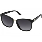 GUESS GF0327 Shiny Black with GoldSmoke Gradient Lens
