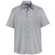 Skjorta POWELL grå regular fit kort ärm
