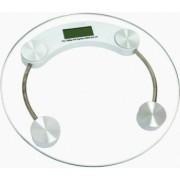 Cantar electronic de persoane Hausberg HB-6000C platforma sticla transparenta 150 kg maxim