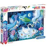 Puzzle Brilliant A Fairy Night Clementoni 104 piese
