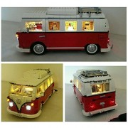 Lighting Led Kit for Lego 10220 Volkswagen T1 Camper Van(Lego Set Not Include)
