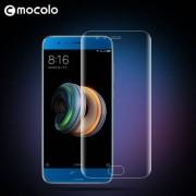 MOCOLO előlap védő karcálló edzett üveg, TELJES KIJELZŐT VÉDI - ÁTLÁTSZÓ - 0,33mm, arc edge - XIAOMI Mi Note 3 - GYÁRI