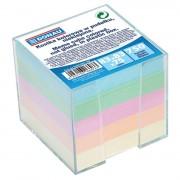 Cub hartie color 750 file cu suport plastic Donau
