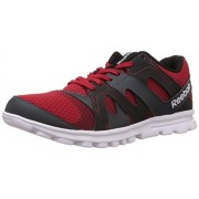 Reebok Men's ELECTRO RUN Red,Black,Grey and White Running Shoes - 7 UK/India (40.5 EU)(8 US)