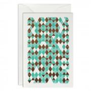 Mosaic Grußkarte B6 Haferkorn & Sauerbrey