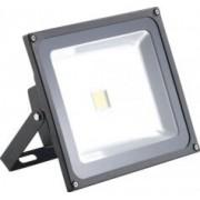 Luminea Projecteur LED étanche IP65 - 50 W - Blanc chaud