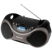 Micro Sitem Sencor SPT 225, CD/Mp3 Player, Radio AM/FM (Negru)
