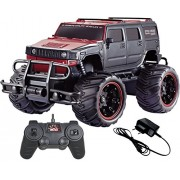 Remote Control Car Off Road Cross Country Hummer Style Monster Truck Mad Racing Series 1:20 Red