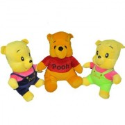 Yashi Enterprises Three Pooh Combo 38 CM