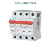 PL4-C6/3N, Siguranta automata trifazata tripolara, siguranta automata 6A 3P+N, EATON
