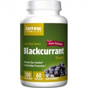Jarrow Formulas Black Currant Freeze-Dried Extract Promotes Eye Comfort & Antioxidant Protection 200 mg 60 Capsules