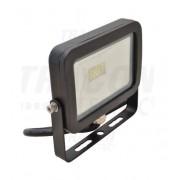 Tracon RSMDJ30 LED-es, SMD fényvető, 30 W teljesítménnyel, fekete színben, 4500K színhőmérséklettel, IP65-ös védelemmel, 2400 lm fényerővel