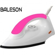 BALESON MAGIC ELECTRIC IRON 750W( PINK-WHITE )