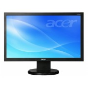 "Monitor ACER V206HQLBMD, 19.5"", 5 ms, VGA, DVI, Boxe, Black"