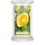 Kringle Candle Citrus and Sage 2 Wick Large Jar 100 h