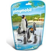 Joc Playmobil City Life Zoo Familie de pinguini