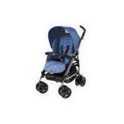 Carrinho de Bebê Pliko Compact Mod Bluette Pég-Perego - Azul Royal