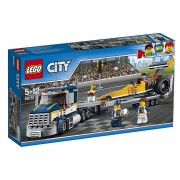 Lego city great vehicles trasportatore di dragster 60151