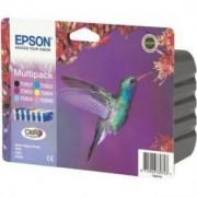 Epson Stylus Photo ( T0807 ) R265/360,RX560 - multipack - Black,Cyan,Magenta,Yellow,Light Cyan,Light Magenta - C13T08074011