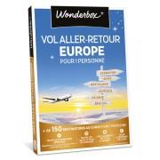 Wonderbox Coffret cadeau Vol aller-retour Europe pour 1 personne - Wonderbox