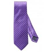 Eton Medallion Silk Tie PURPLE