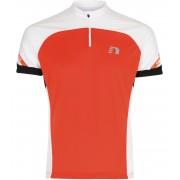 NEWLINE BIKE Jersey Pánský cyklistický dres 21518-017 Oranžová M