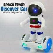 Space flyer Űrhajós Robot elemes világító, zenélő robot Gyerek játék - 2599