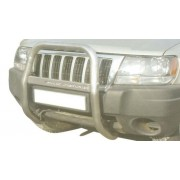 SMALL BAR INOX Ø 63 JEEP GRD CHEROKEE 1998- 2005 (MARQUAGE GRAND CHEROKEE)