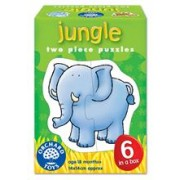Set 6 Puzzle Jungla (2 Piese) Jungle