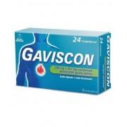 Reckitt Benckiser H.(It.) Spa Rb Gaviscon 500mg+267mg Trattamento Sintomatico Del Bruciore Di Stomaco Occasionale Gusto Menta 24 Compresse Masticabili