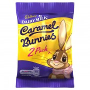 Cadbury Caramel Bunnies 40g Chocolate Sweets