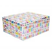Shoppartners Happy Birthday cadeaupapier 70 x 150 cm