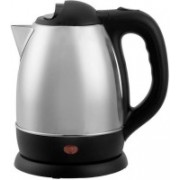 Mezire ™SC-1838 Pour Over Drip Coffee and Tea, 1500W 1.8 Litre Water Boiler Cordless Stainless Steel Tea Heater with Auto Shut Off & Boil Dry Protection Electric Kettle (1.8 L, Silver) Electric Kettle(1.8 L, Silver)