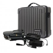 KAYOND PC Hardshell Waterproof Carry Case with Customizable Foam for DJI Mavic Pro (black carbon fiber)