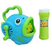 Fish Bubble Machine, Wind Up, Handheld, Rainbow Bubbles