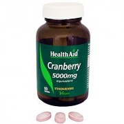 HealthAid Cranberry 5000mg (Equivalent) - 60 Tablets