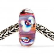 Trollbeads TGLBE-10173 Kraal Noorderlichtbloem zilver/glas