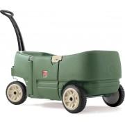 Step2 Bolderkar Wagon for Two Plus - Kunsstof bolderwagen - 2 zitjes met gordels