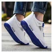 Zapatos Fashion-Cool Para Hombre-Azul Y Blanco