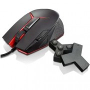 Мишка Lenovo Y Gaming Precision, гейминг, оптична (8200 dpi), 9 бутона, USB, черна, програмируема подсветка