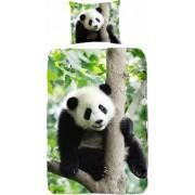 Good Morning dekbedovertrek Panda 135 x 200 cm