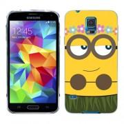 Husa Samsung Galaxy S5 Mini G800F Silicon Gel Tpu Model Minion Girl